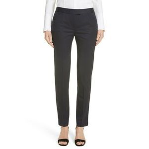 Lafayette 148 Irving Pants 12 Slim Tapered Wool